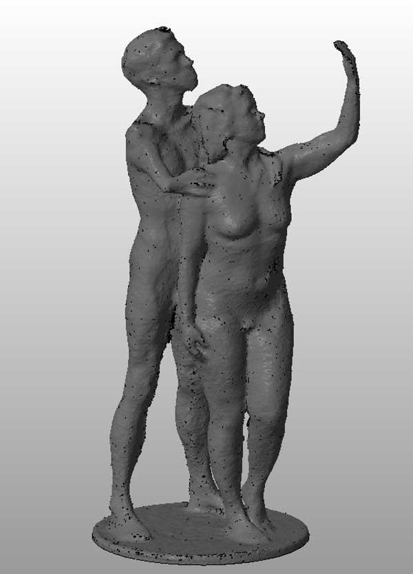 Julie Atlas Muz & Mat Fraser 3D Portrait