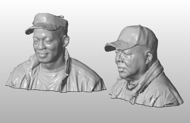 Melvin & Clark 3D Scans