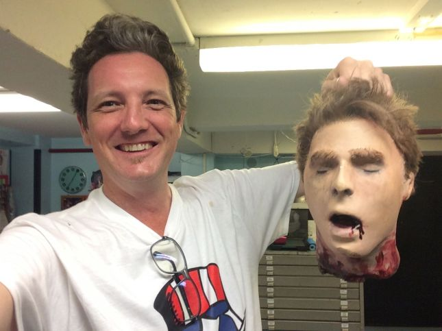 Here I am with the Head of Hastings!
