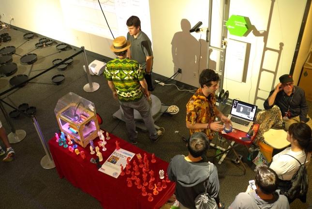 Scan-A-Rama 3D Portrait Studio at World Makerfaire New York 2014