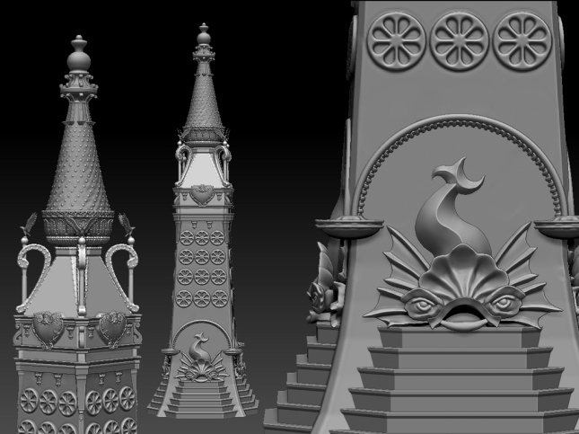 The Big Electric Tower- almost ready for 3D printing