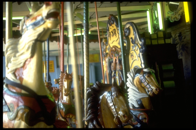 The B&B Carousel before it was destroyed by renovations.
