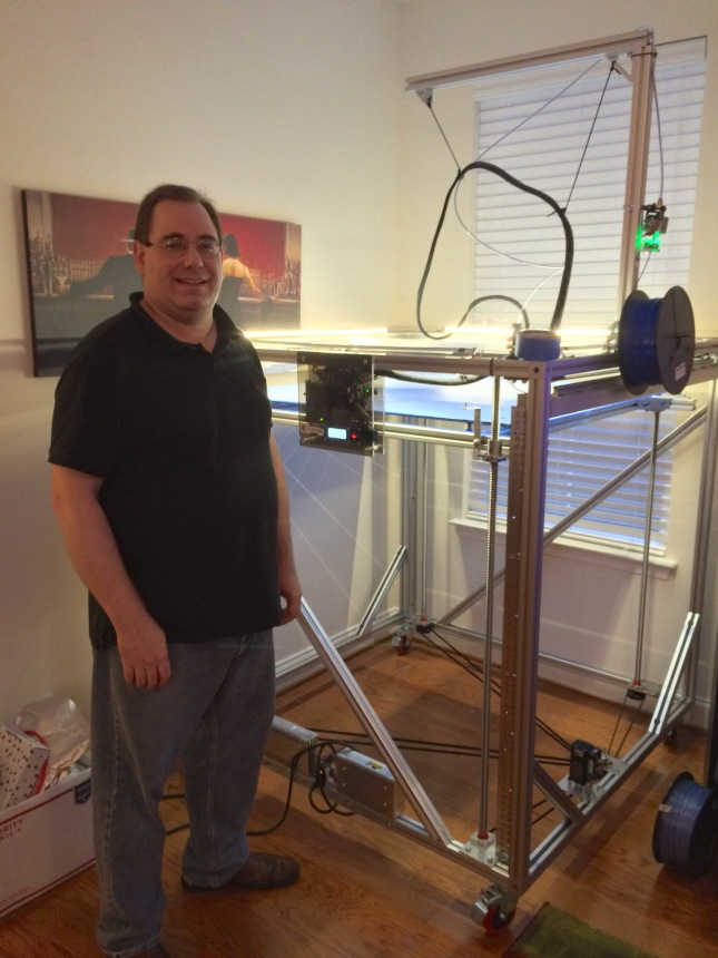 Jetguy with his massive CoreXY Ulti-Replicator