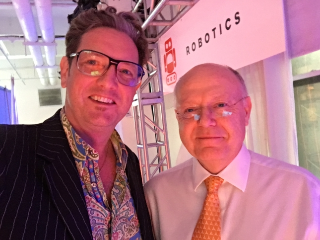 Here I am with Pfizer CEO Ian Read!